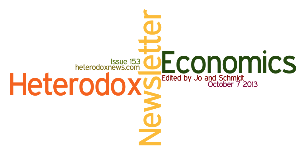 Heterodox Economics Newsletter 153