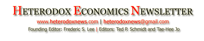 Heterodox Economics Newsletter